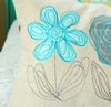 Picture of Scribbled Daisy Applique