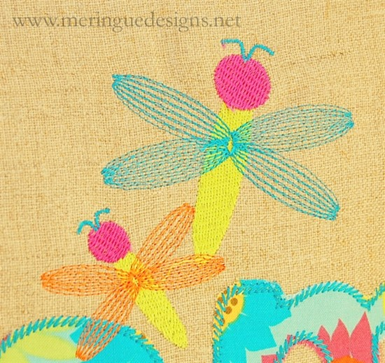 Picture of Dragonfly Stitched