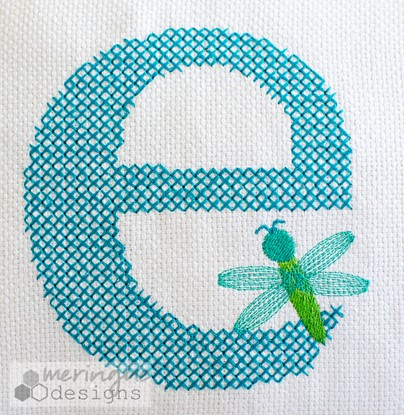 Picture of Cross Stitch Alphabet MEDIUM