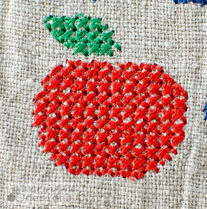 Picture of Cross Stitch Apple