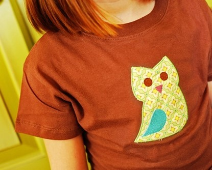 Picture of Owl Applique
