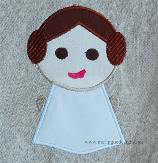 Picture of Star Wars Baby Leia