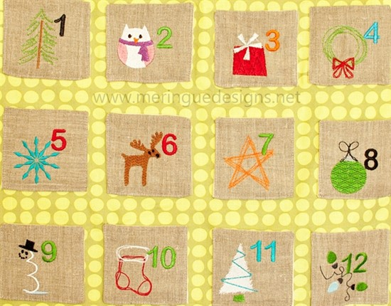 Picture of Advent Calendar Designs & Pattern